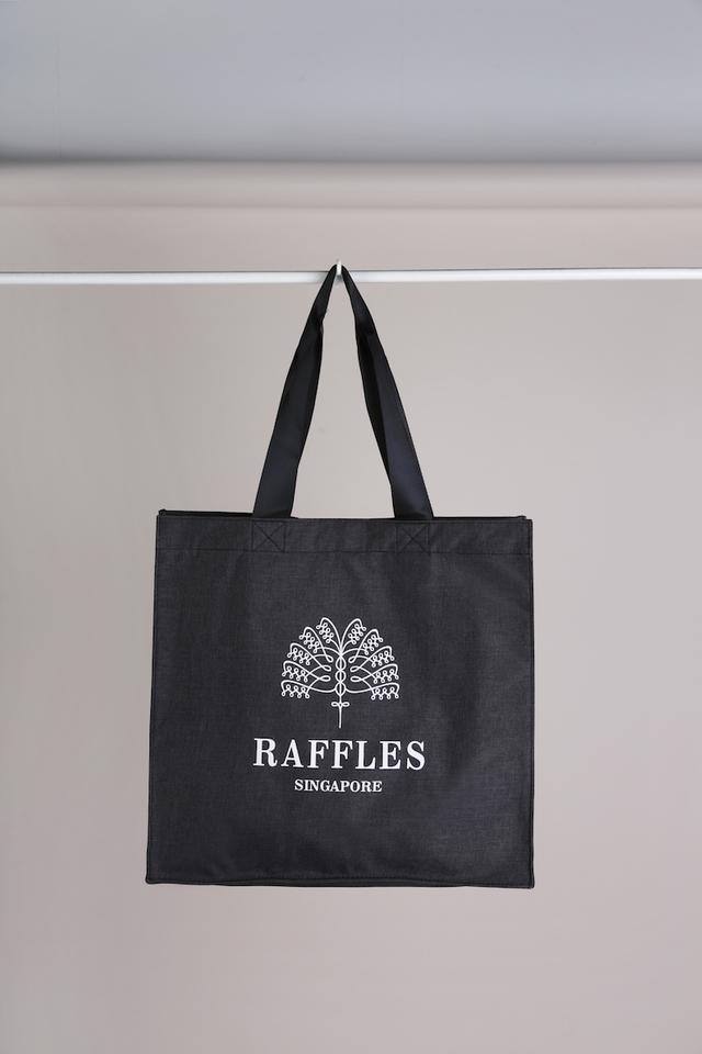 Raffles Nylon Tote Bag