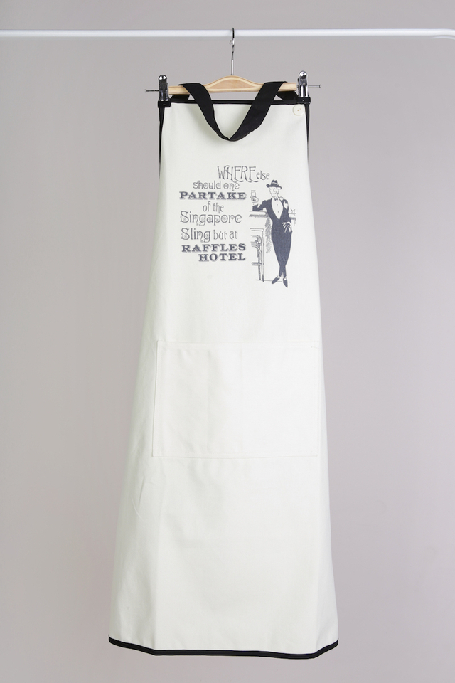 Apron in Partake Design with Embroidered pockets RHS logo