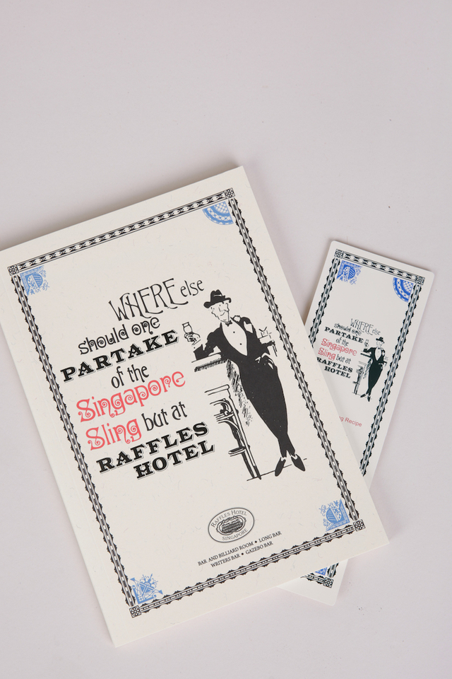 Note Book in Partake Design with Raffles Logo