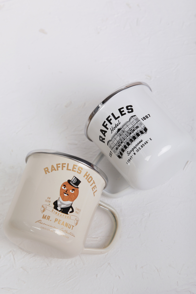 Raffles Enamel Mug
