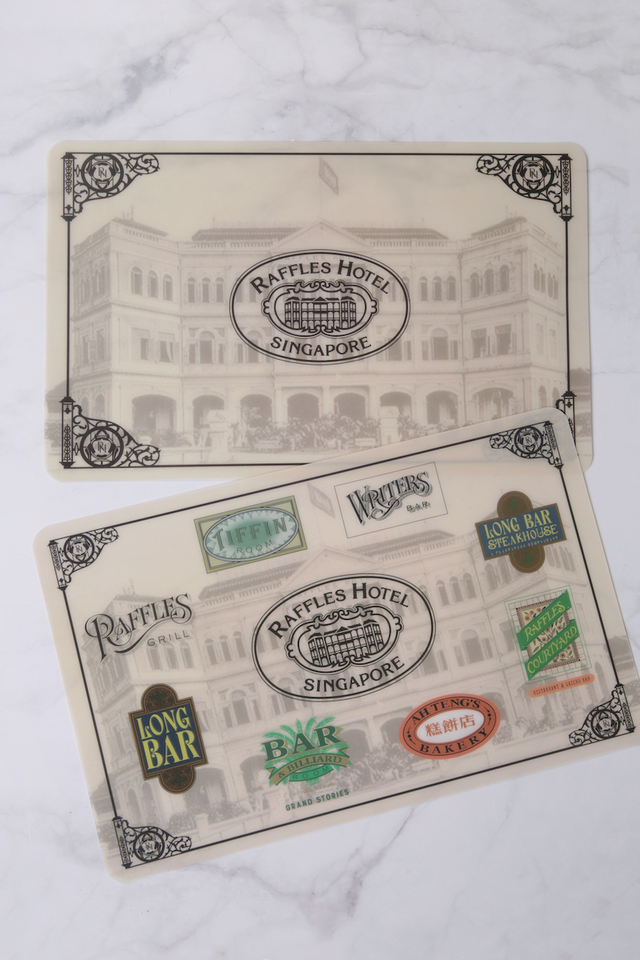 Raffles Hotel Singapore Placemat