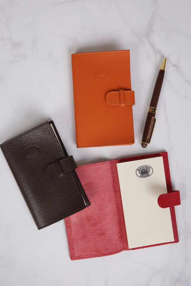 Raffles Leather Pocket Notepad