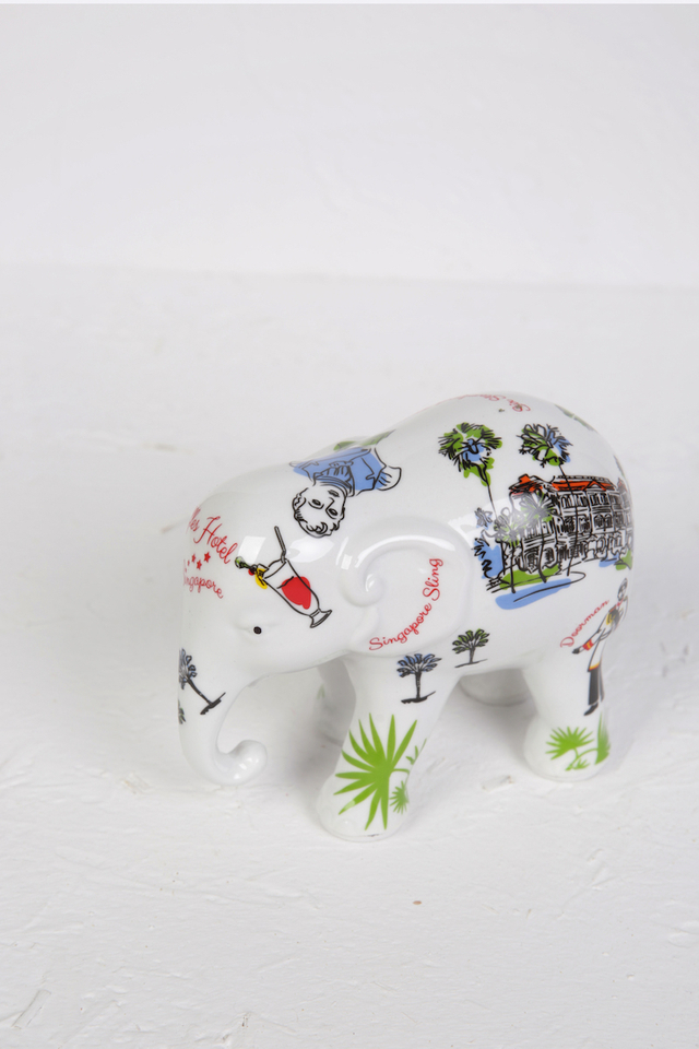 Fine Porcelain Contemporary Design Elephant