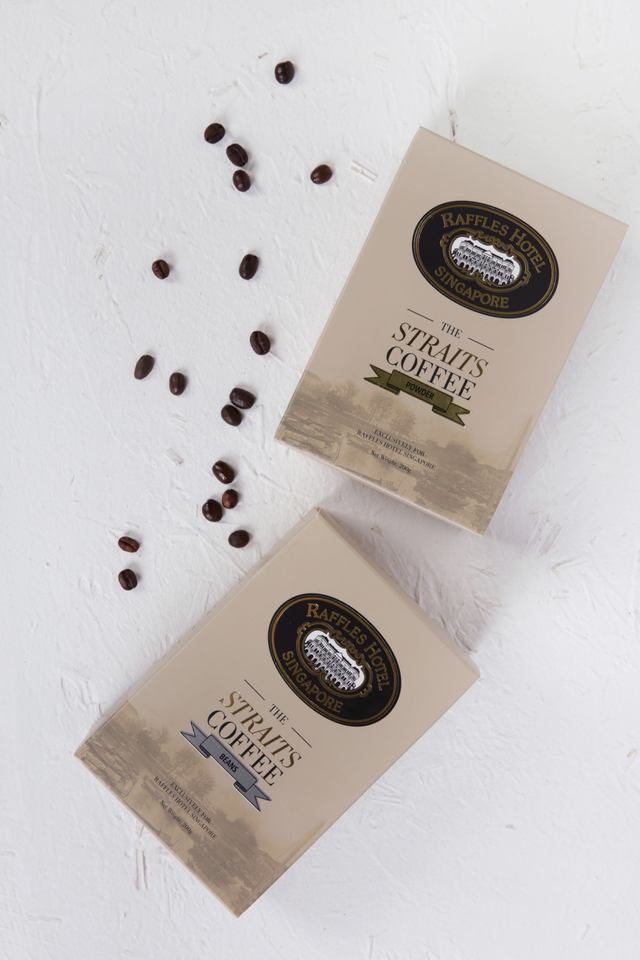 The Straits Blend Coffee Powder/Bean
