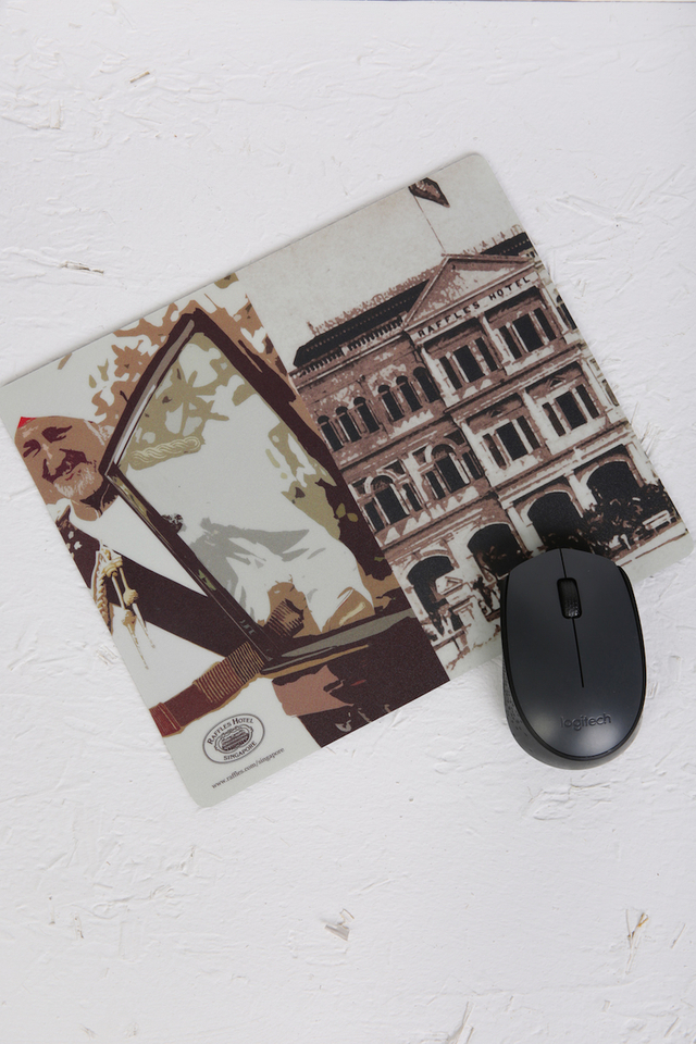 Historic Raffles Mouse Pad