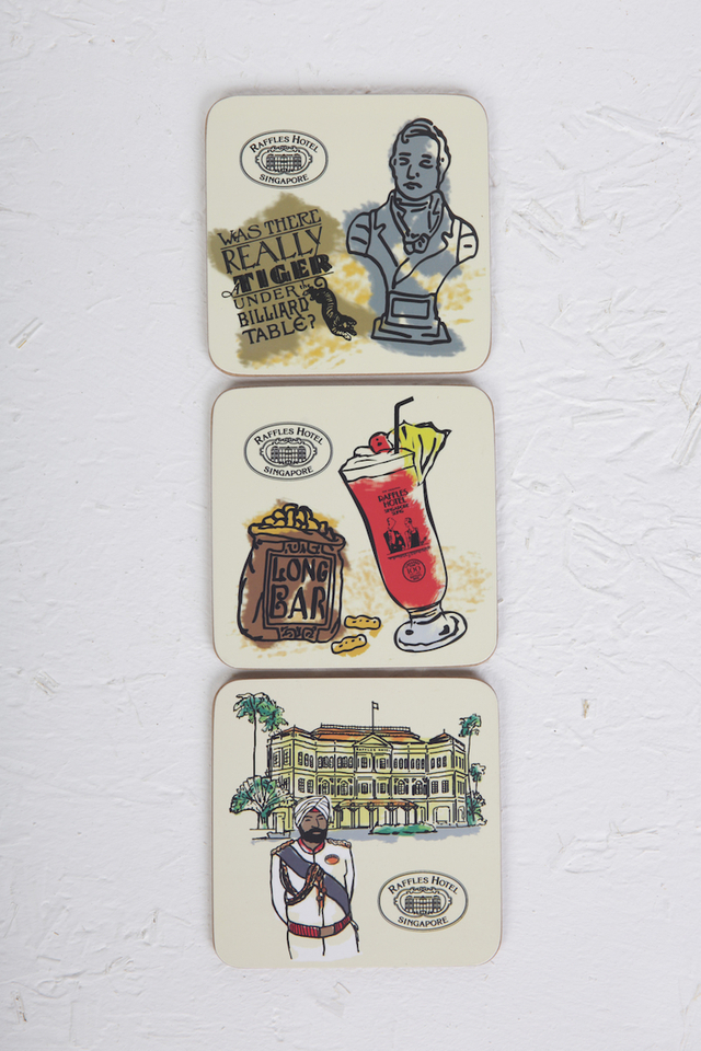 Raffles Icons Coaster Set