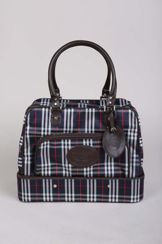 Fine Leather Golf Boston Bag