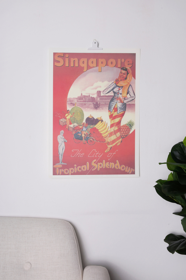 Raffles Tropical Splendour Poster