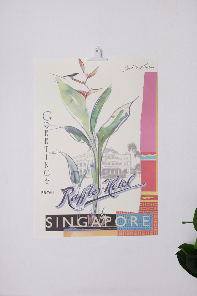 Raffles Greetings Poster