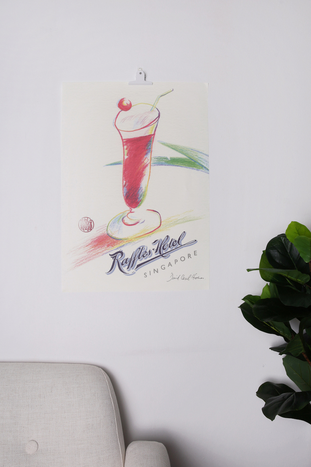 Singapore Sling Poster
