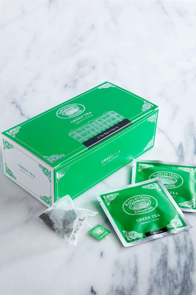 Raffles Green Tea Bag in Box