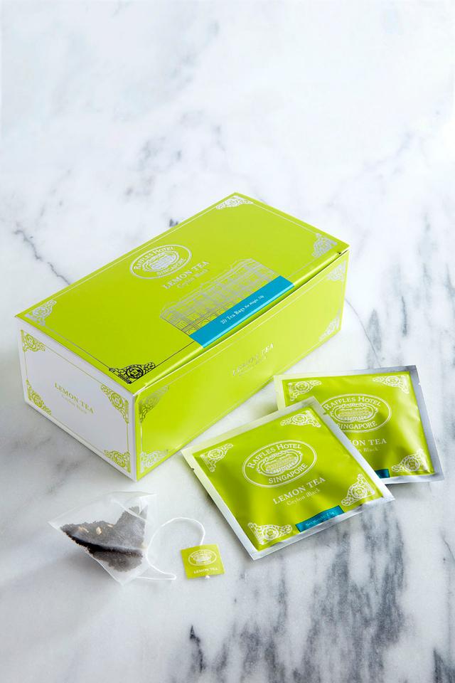 Raffles Lemon Tea Bag