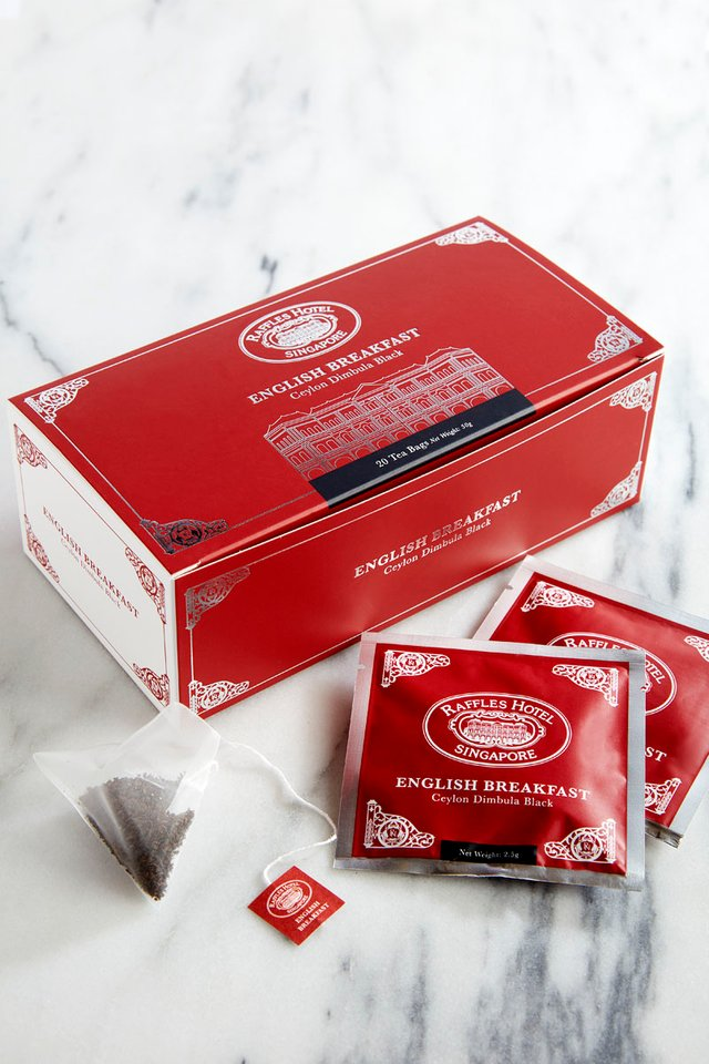 Raffles English Breakfast Tea Bag