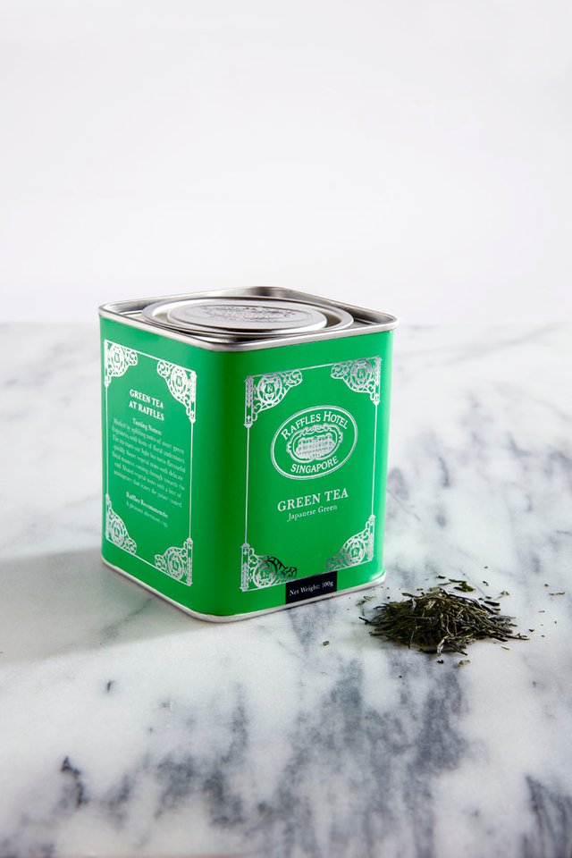 Raffles Green Tea Loose Leaf Tea