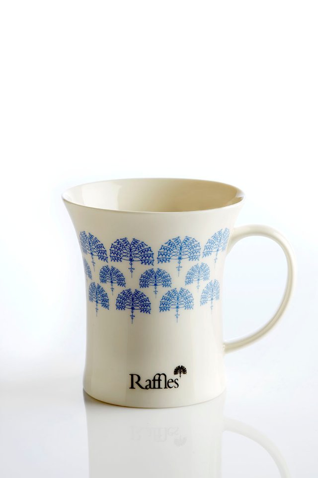 Raffles Palm Tree Logo Mug