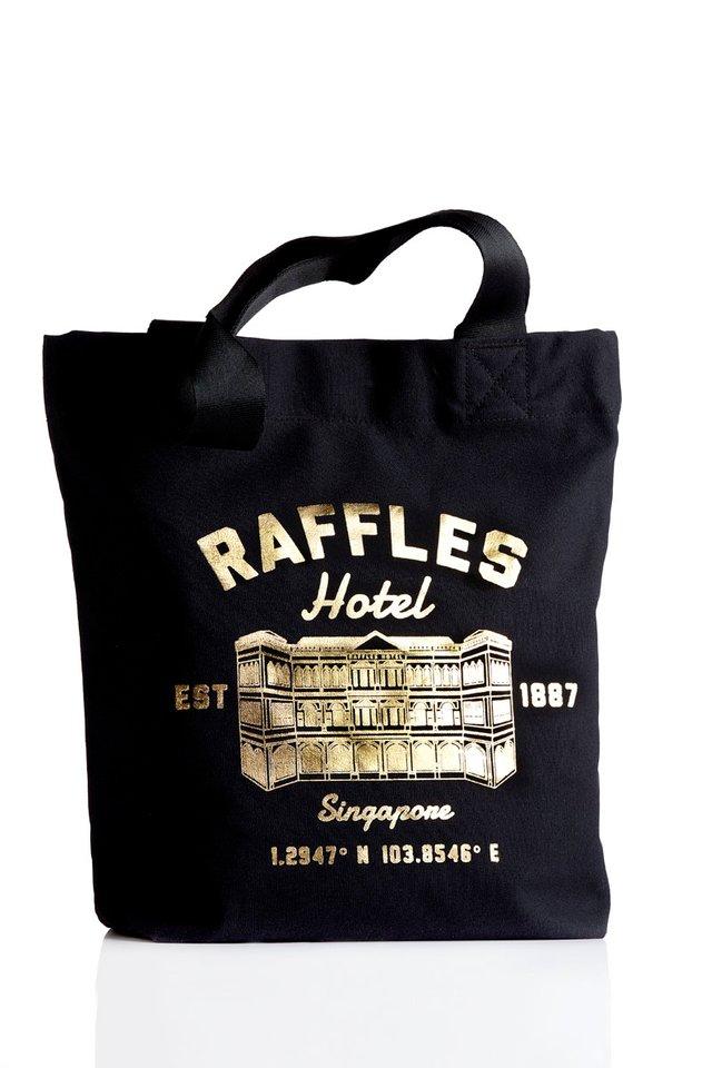 Raffles Facade Tote Bag