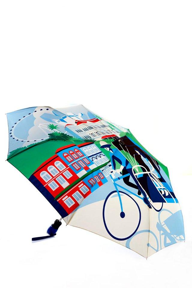 Short Umbrella (Raffles Design)