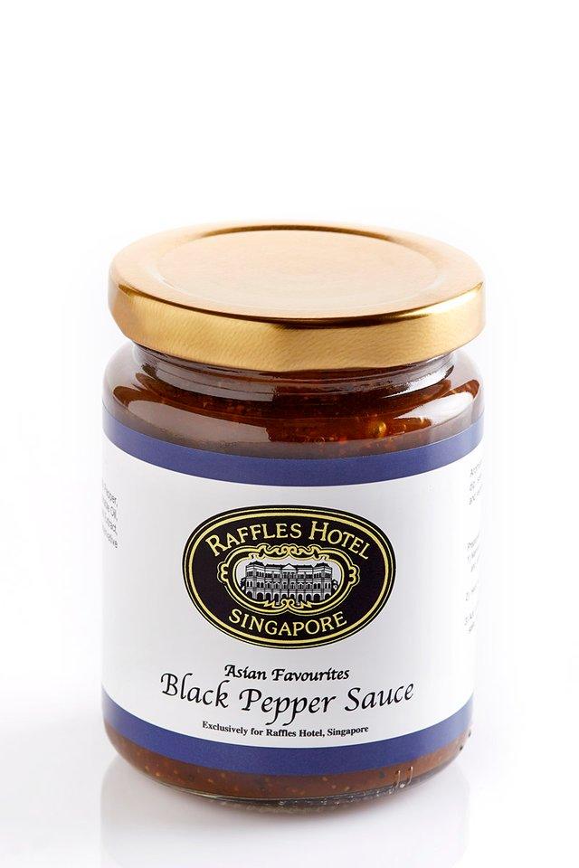 Raffles Gourmet Black Pepper Sauce