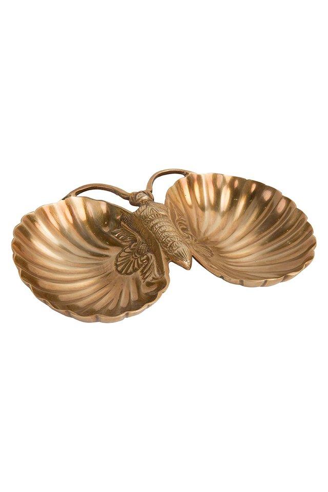 Artisanal Brass Butterfly Dish