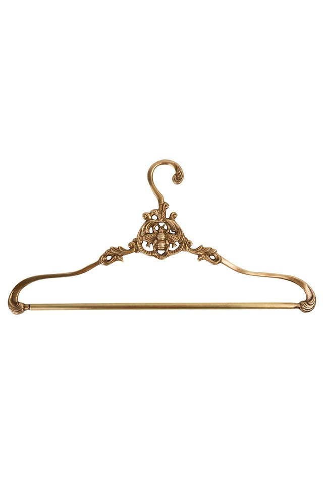 Artisanal Pineapple Brass Coat Hanger