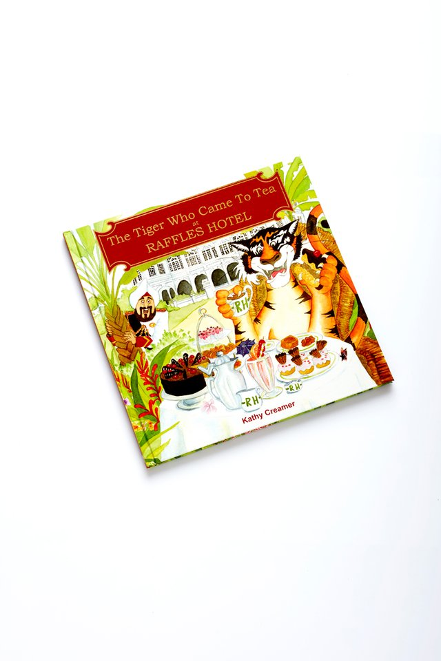 'Tiger Who Came To Tea at Raffles Hotel' Book