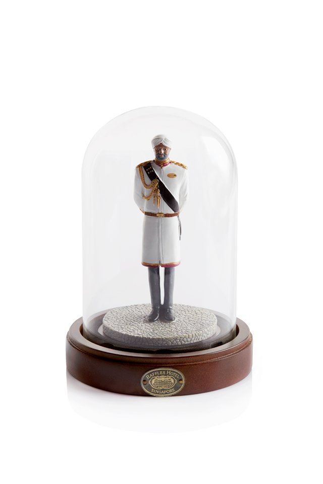 Raffles Doorman Figurine