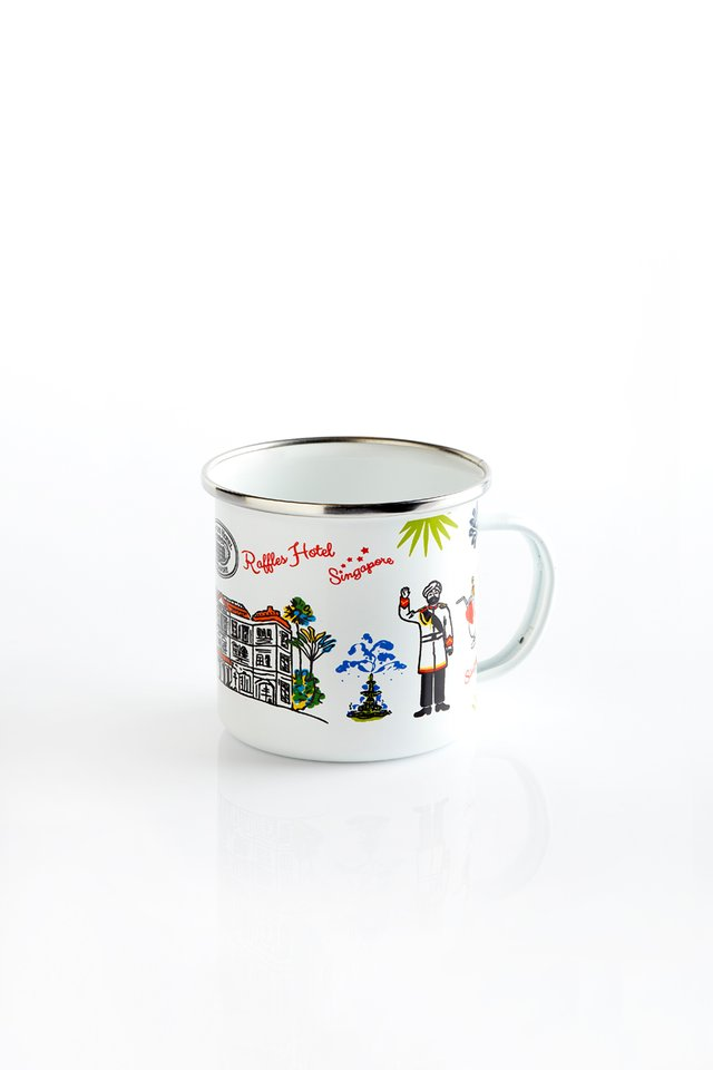 Contemporary enamel Mug