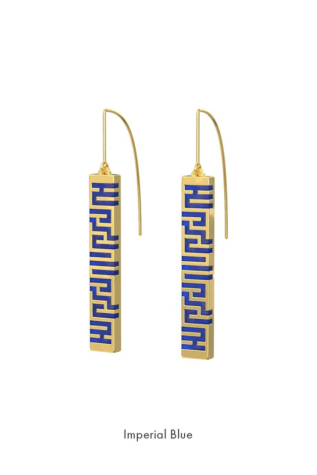 Ban Zu Earrings - Gold