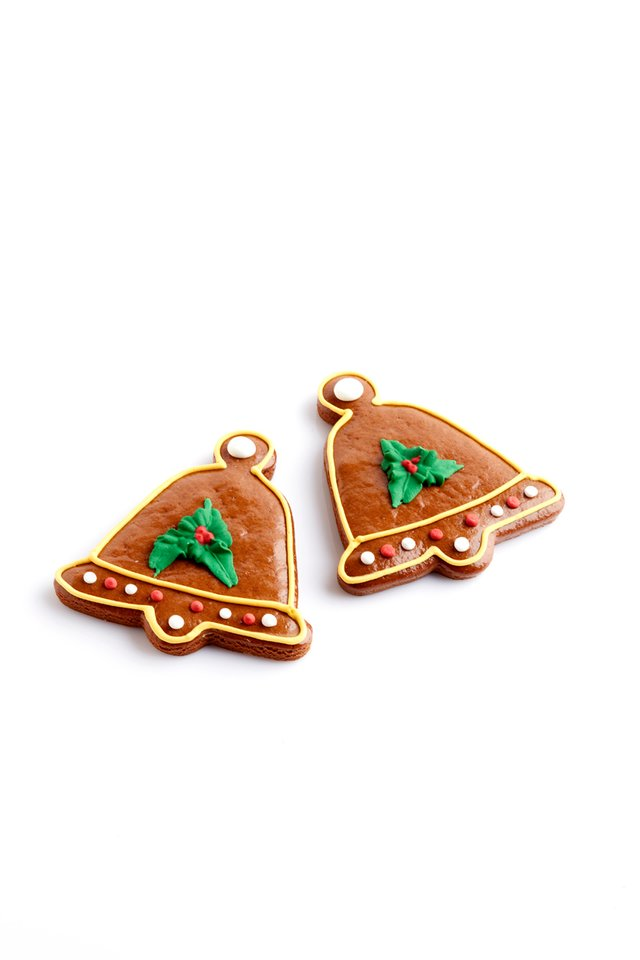 Gingerbread Bell Cookies