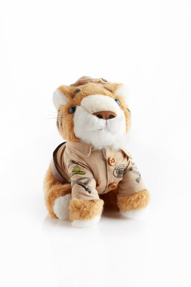 Raffles Tiger Soft Toy