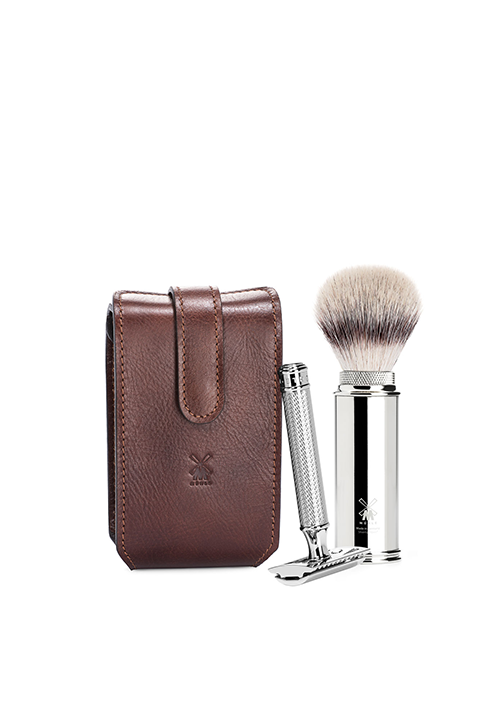 Safety Razor Travel Razor Set by MÜHLE