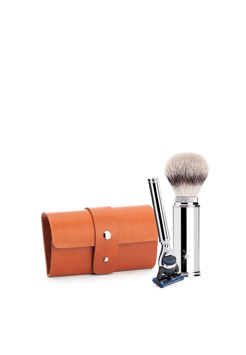 FUSION Travel Shaving Set by MÜHLE