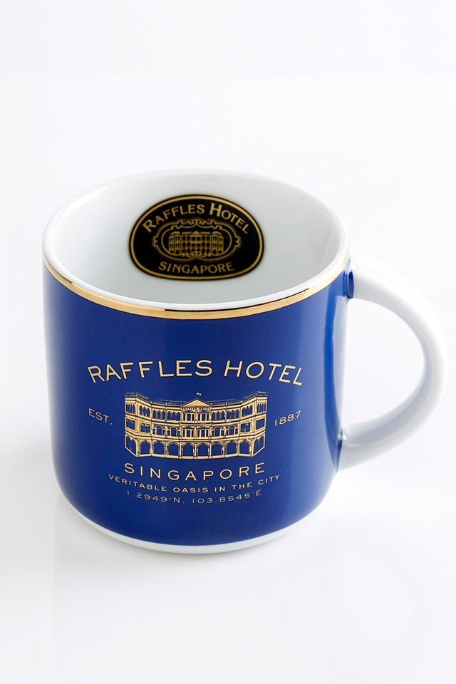 Raffles Mug & 6-Piece Coaster set