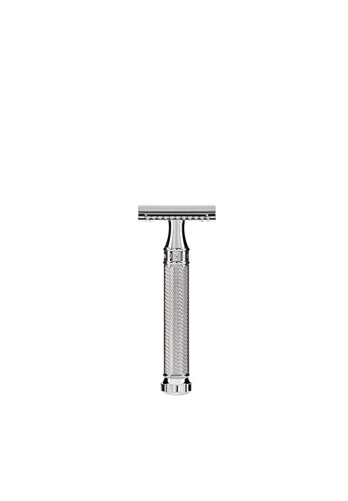 Traditional Chrome twist safety razor blade by MÜHLE