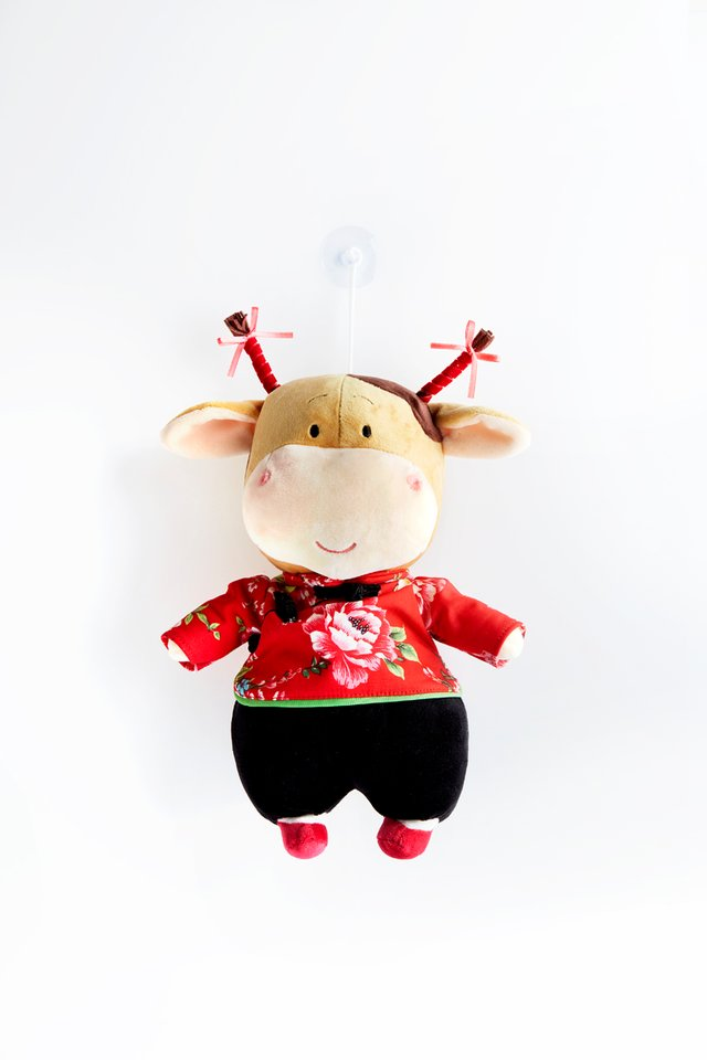 Ox Plush Toy