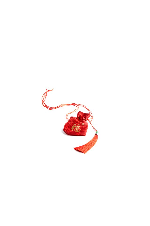 Mini Fortune Decorative Pouch with Tassel