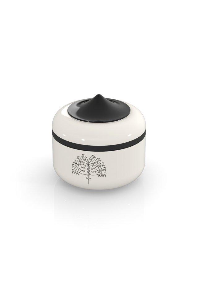 Raffles Palm Ring Box (White)